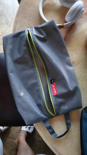 美国pack all复合网布鞋袋 耐磨便携旅行收纳鞋包 可手提鞋套 鞋子防尘袋整理包 灰色 晒单图
