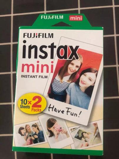 富士INSTAX 立拍立得 一次成像相机 MINI7s相机 蓝 入门套餐(10张胶片) 晒单图