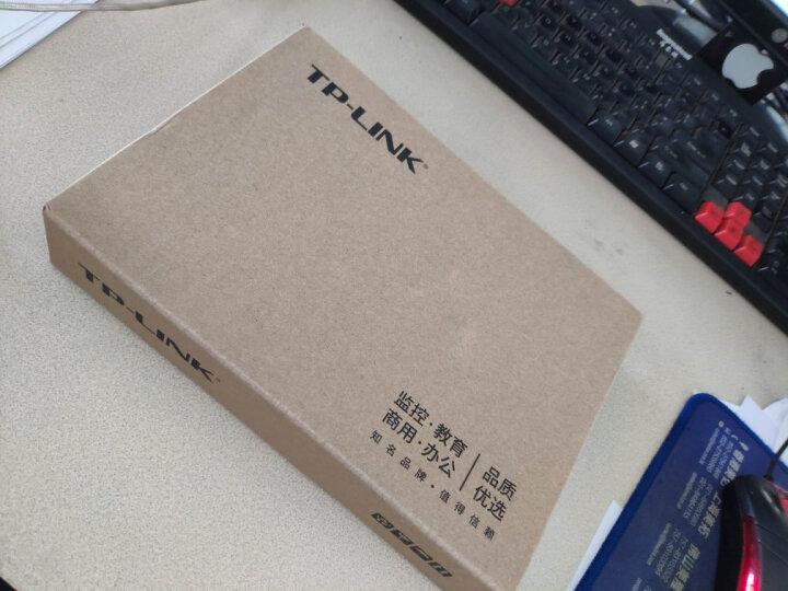 TP-LINK 8口千兆交换机 企业级交换器 监控网络网线分线器 分流器 金属机身 TL-SG1008D 晒单图