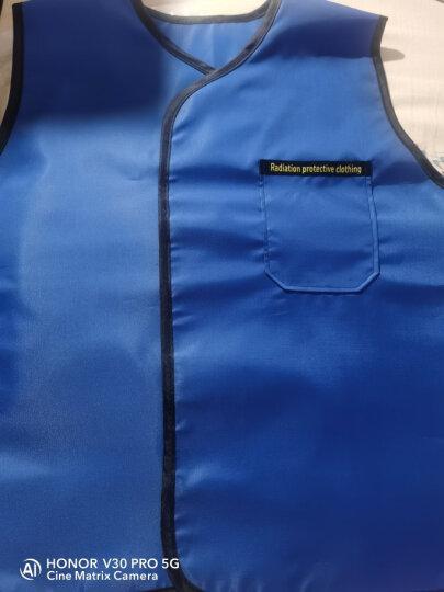 鑫峰 医用铅衣x射线防辐射服 粒子植入防护服 介入手术铅衣马甲 孕妇放射科CT室口腔牙科X光核背心 超柔软0.125mmpb S 晒单图