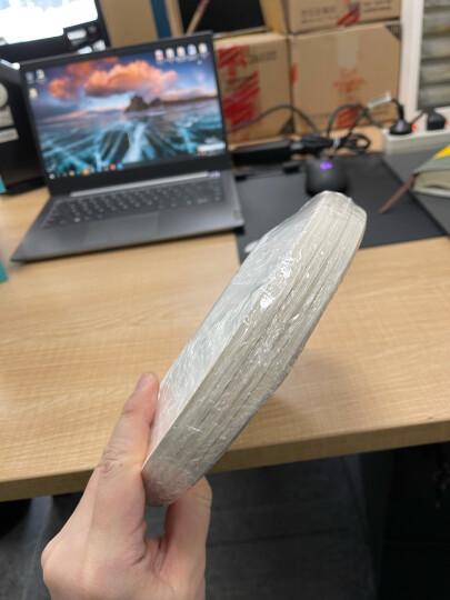 洁能 6英寸一次性纸碟 盘子 餐盘 (40只装)户外野营烧烤 可降解 防水防油 适用微波炉 JN-0174 晒单图