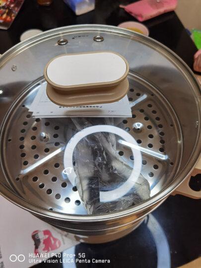 苏泊尔(SUPOR)多用途锅电蒸锅多功能家用电火锅蒸包子锅电煮锅三层大容量12.5L分体式可拆洗ZN28YC808-130 晒单图