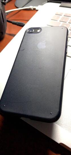 第一卫 苹果7手机壳保护套全包超薄防摔磨砂硬壳女 适用于iphone7/8plus 苹果7【4.7英寸电镀蓝】 晒单图