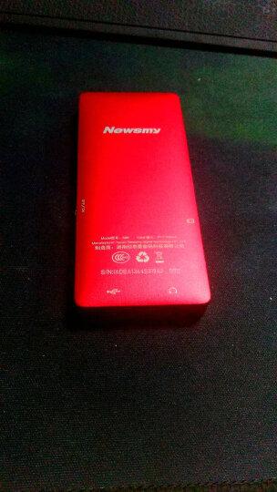 纽曼(Newsmy)A66 土豪金 8G MP3 MP4 录音+无损+便携+运动 HIFI播放器 晒单图
