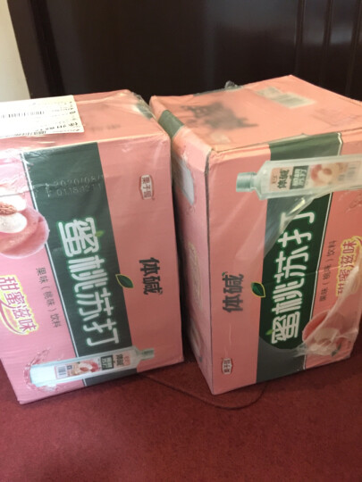 栗子园体碱蜜桃苏打水饮料无汽果味饮料饮用水饮品400ML*24瓶整箱 整箱装 晒单图