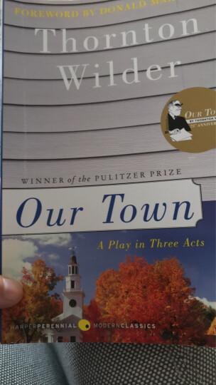 Our Town我们的小镇 英文原版 晒单图
