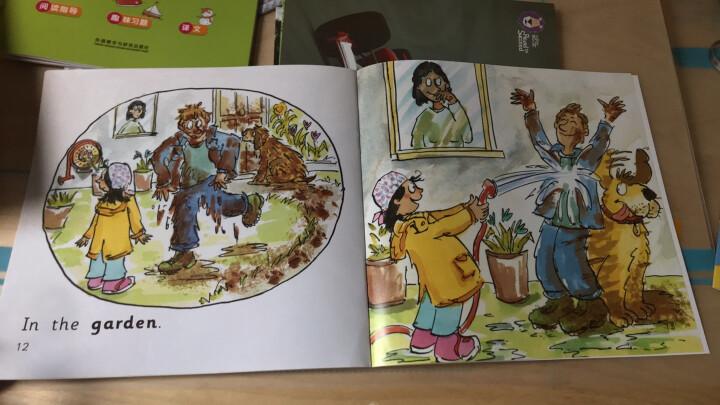 大猫英语分级阅读预备级2 Big Cat(幼儿园大班、小学一年级 读物9册+家庭阅读指导1册 点读版 附MP3光盘1张) 晒单图