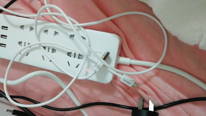 品胜(PISEN)安卓数据线 1米黑色 Micro USB手机充电线(加长版接口)适于三星/小米/vivo/魅族/华为等 晒单图