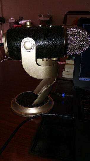 Blue yeti pro 雪怪 专业录音棚级电容麦克风 四种拾音模式 XLR模拟输出 钢琴吉他人声 专业版 晒单图