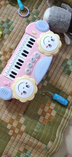 育儿宝 儿童电子琴钢琴0-1-3-6岁男孩女孩宝宝婴儿音乐玩具 多功能兔子电子琴 晒单图