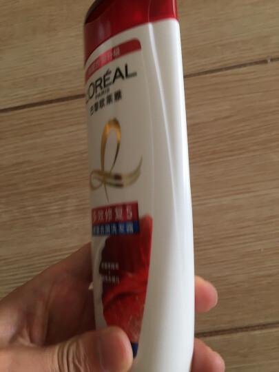 欧莱雅(LOREAL)透明质酸水润去屑洗发露200ml(无硅油)新老包装随机发 晒单图