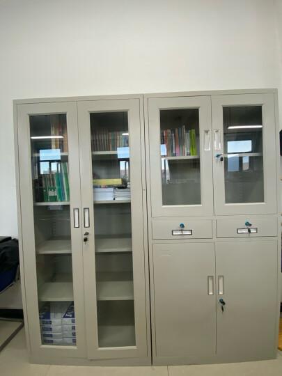 义顺 文件柜铁皮柜钢制档案柜资料柜带锁抽屉柜书柜办公家具财务凭证柜密码柜办公室柜子 图七 0.7mm 晒单图