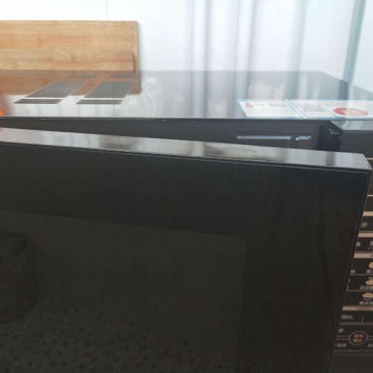 格兰仕微波炉 光波炉 微烤箱一体机23L平板800W家用电脑操控智能按键 黑色 晒单图