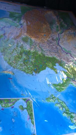 仿古地图:中国+世界地图挂图(1.1米*0.8米  套装2张 复古地图 赠3米粘贴胶 ) 晒单图