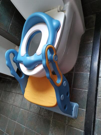 世纪宝贝(babyhood)儿童马桶宝宝坐便器婴儿便盆 幼儿男女小孩尿盆 新升级蓝色BH-107 晒单图