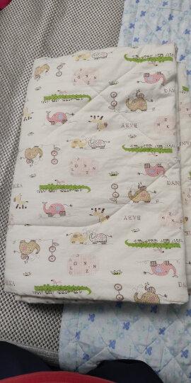 象宝宝(elepbaby)儿童被子婴儿被子被罩夏季空调被夏凉被毛巾被盖被幼儿园被子被褥120X150CM(动物开会) 晒单图