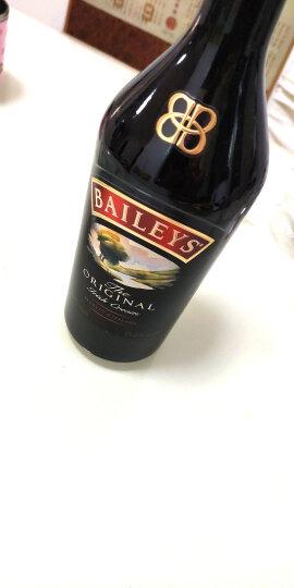 百利(Baileys)洋酒 百利甜酒 力娇酒配制酒 进口洋酒 奶油 原味700ml 晒单图