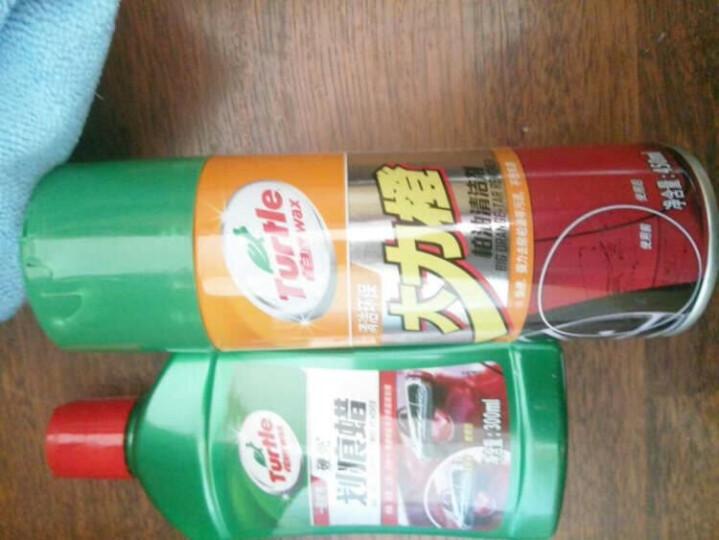 龟牌(Turtle Wax)金龟新车蜡汽车蜡打蜡套装镀膜去污划痕洗车液洗车水蜡汽车清洁 汽车用品TC-807-9 晒单图