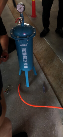 艾帝威空压机油水分离器干燥压缩空气精密过滤器净化喷漆气动设备精密储气罐1立方 晒单图