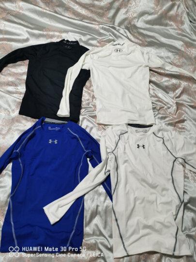 安德玛官方UA Armour男子运动长袖紧身衣Under Armour1257471 白色100 XXL 晒单图
