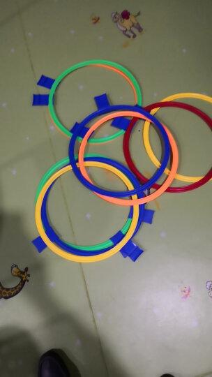 贝比谷 幼儿园室内游戏玩具感统训练器材跳格子儿童户外运动器械跳房子 特大号10圈10卡扣 晒单图