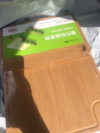 双枪 天然竹砧板切菜板案板京东自营砧板宝宝辅食板买一得三套装 (45*32*1.8+28.2*22.8*1.1+22*1.1cm) 晒单图