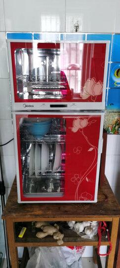 美的(Midea)消毒柜家用 碗柜 碗筷 小型 二星级 立式 80K03 晒单图