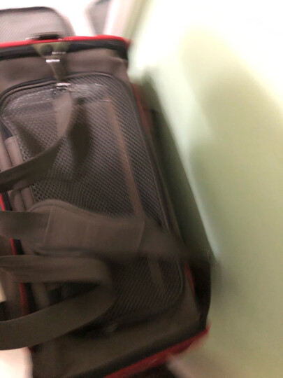 Petsfit 宠适猫包宠物航空箱猫背包 可折叠宠物外出包狗包便携车载宠物包 沥青灰 L-47*30*30cm 晒单图