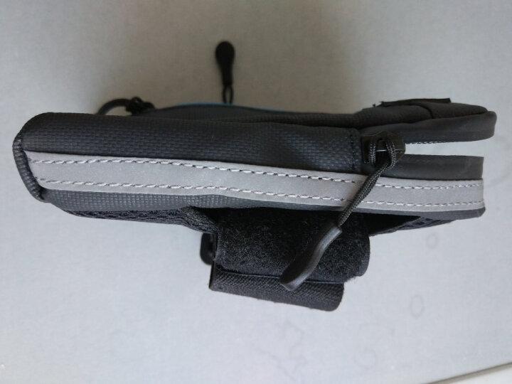 山业 SANWA 防泼水运动手机臂包 iPhone6/6S三星 跑步骑行臂袋ARM1 荧光色 晒单图
