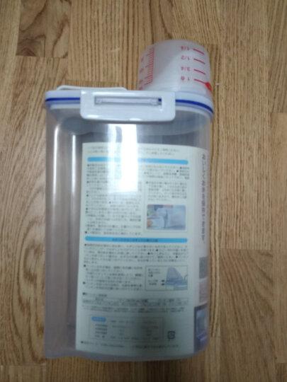 贝石(beishi)密封储米箱储米桶计量米桶家用厨房防虫防潮米桶杂粮储物罐收纳盒2kg MT-2 晒单图