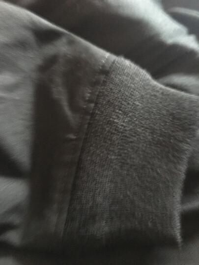 Luxury Lane 男士A2飞行夹克秋款厚帆布夹克外套 加肥加大 黑色 XL(90-100kg) 晒单图