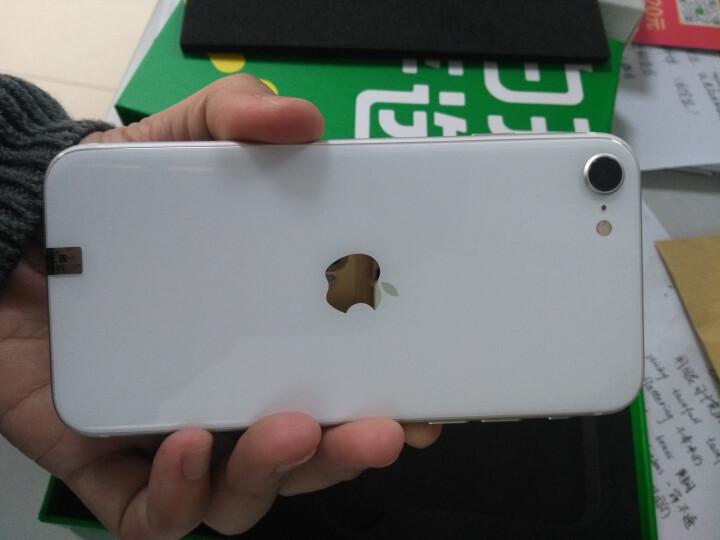 亿色(ESR)【贴坏包赔】苹果8plus/7plus/6splus钢化膜 9D非全覆盖抗蓝光防爆玻璃前膜 晒单图