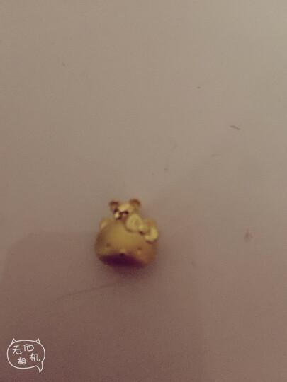 【母亲节礼物】周大福 Hello Kitty凯蒂猫系列 考拉 定价足金黄金吊坠 R13859 晒单图