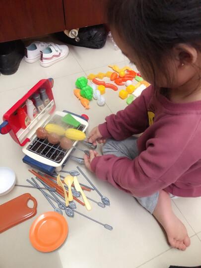益米 儿童玩具女孩过家家厨房玩具 男女孩仿真厨具餐具煮饭烧饭8200B 晒单图