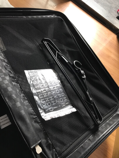 瑞动(SWISSMOBILITY)拉杆箱25英寸PC旅行箱行李箱万向轮 YKK拉链 MT-5032-02T00黑色 晒单图