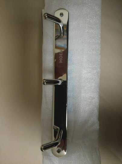 摩恩(MOEN)  不锈钢卫生间厨房衣钩排钩挂钩挂衣架墙钩衣帽钩 ACC9944 晒单图