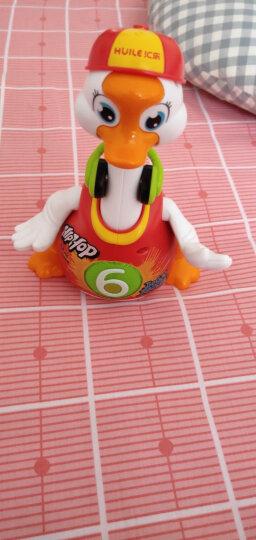 汇乐玩具(HUILE TOYS) 儿童玩具 摇摆鹅跳舞电动爬行 益智玩具 女孩婴儿玩具0-1岁 828红色 晒单图