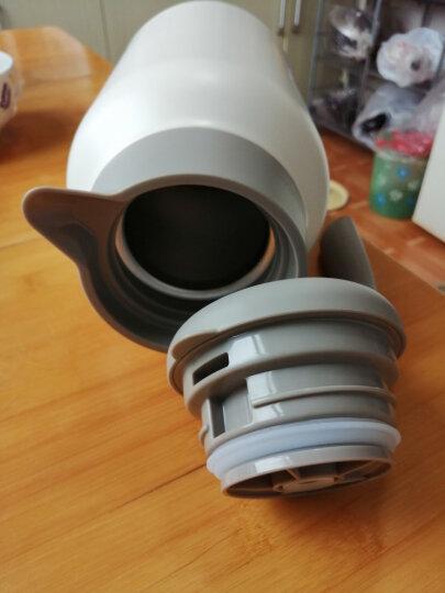 哈尔斯 保温壶杯 家用暖壶瓶热水瓶壶 健康不锈钢 暖水瓶壶 家居壶瓶2L欧式家用开水瓶咖啡壶大容量 (升级款)白色 晒单图