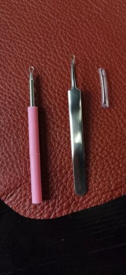 美肤语双头粉刺针痘痘针MF5003(暗疮针 黑头针 美容针 优质不锈钢 带硅胶套) 晒单图