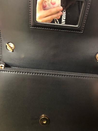 CHARLES&KEITH女包CK2-20160030时尚女信封包流苏小包单肩包 粉红色 晒单图