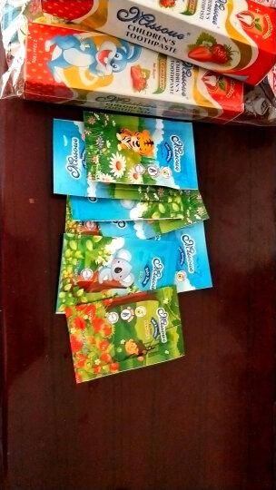 蜜语Missoue 儿童牙刷牙膏套装 宝宝牙膏草莓味无氟60g+儿童软毛牙刷1-3-6-12岁 进口 晒单图