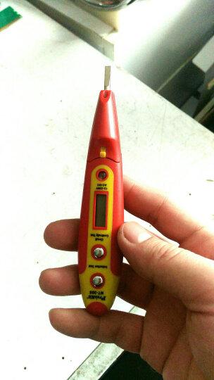 宝工Pro'skit NT-305 多功能数显式测电笔接触式 验电笔 试电笔 晒单图