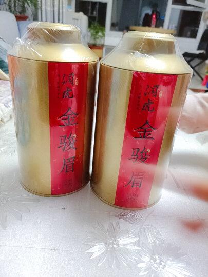 润虎 茶叶 红茶 蜜香型金骏眉 2020年新茶 茶叶礼盒装红茶正山小种 500g(250g*2罐) 晒单图
