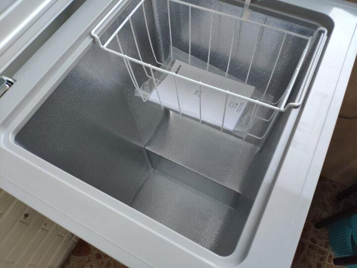 美的(Midea)96升 冷藏冷冻转换冰柜 迷你家用小冷柜 一级能效 单温母婴母乳小冰箱 BD/BC-96KM(E) 晒单图