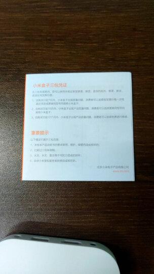 小米盒子4C 智能电视网络机顶盒 H.265硬解 安卓网络盒子 高清网络播放器 HDR 手机无线投屏 黑色 晒单图