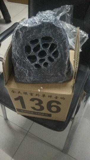 菱声(LINGSHENG) 户外草坪音箱室外防水喇叭公园仿真石头音响园林景观音箱花园草地假山喇叭 LD-515X 晒单图