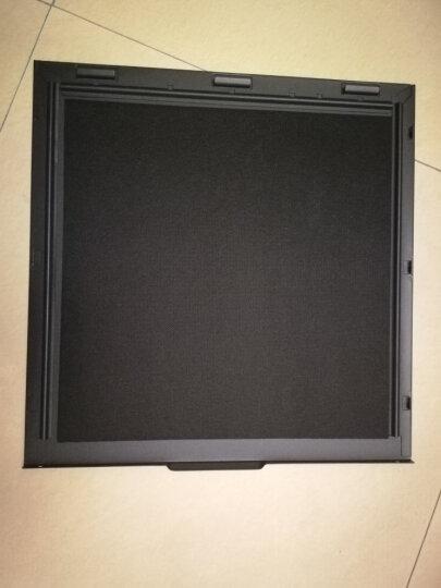 爱国者(aigo) 黑曼巴 黑色 主动式静音机箱(支持ATX主板/0.7MM厚五金/标配3把静音风扇/高分子吸音棉) 晒单图