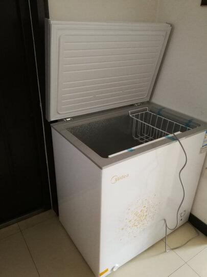 美的(Midea)203升 冷藏冷冻转换冰柜 家商用大冷柜 一级能效 节能 单温母婴母乳 卧式冰箱 BD/BC-203KM(E) 晒单图
