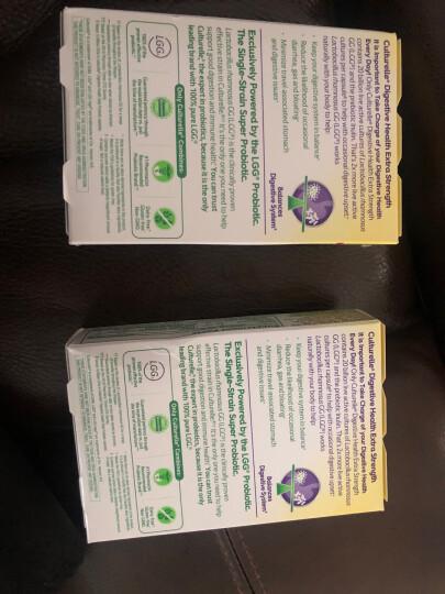 Culturelle 康萃乐 成人青少年消化健康益生菌咀嚼片 橙子口味 24片/盒 美国进口【12岁以上】 晒单图