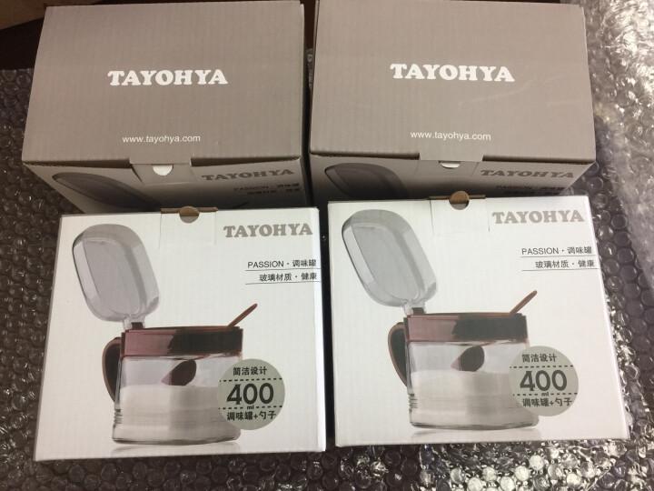 多样屋(TAYOHYA) 调料盒 玻璃调味罐厨房用品储物调料盒调料罐油瓶 单只 350g 晒单图